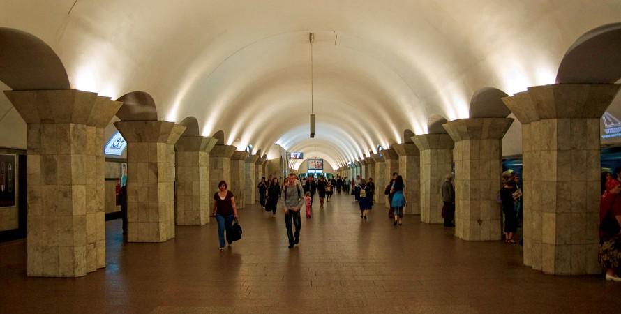 майдан незалежності, метро, станція метро, київ