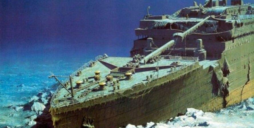 """Носовая часть """"Титаника"""" на морском дне / Фото: National Geographic"""
