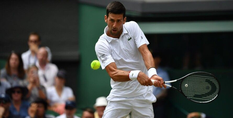 Новак Джокович/Фото: twitter.com/Wimbledon