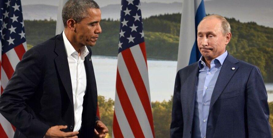 Барак Обама и Владимир Путин / Фото: cont.ws