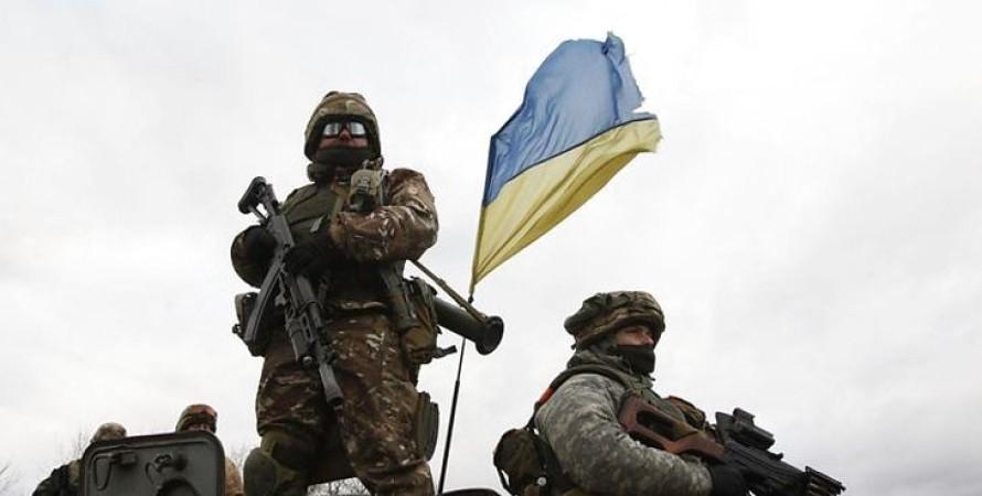 Украинские военные, армия, ВСУ, бойцы, солдаты, НАТО