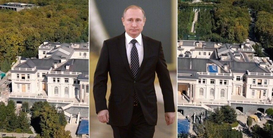 Владимир Путин, дворец, Геленджик, Россия, Навальный