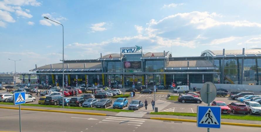 аэропорт киев, запрет, беларусь, потери, фото