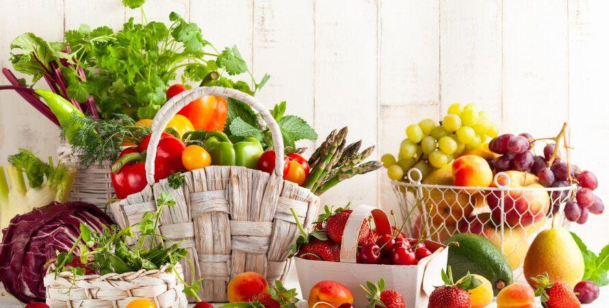 вітаміни, продукти, правильне харчування