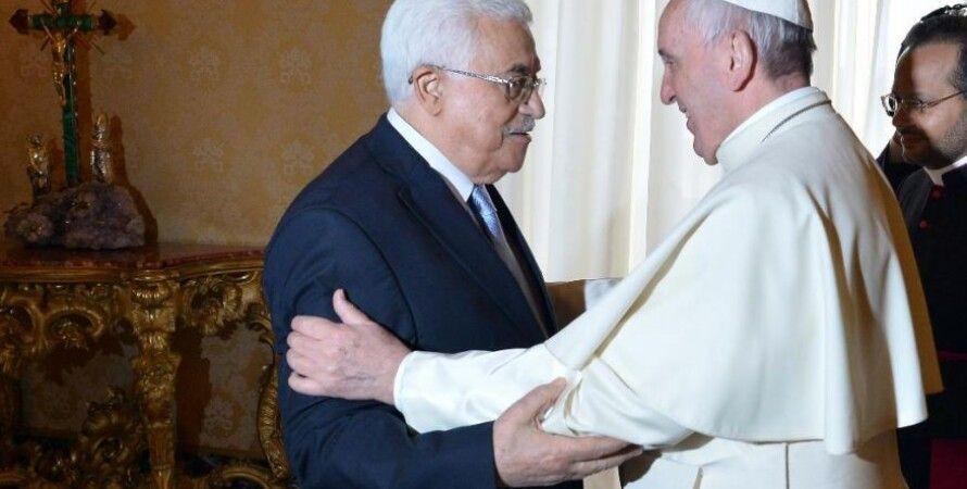 Папа Франциски Махмуд Аббас / Фото: Foxnews.com