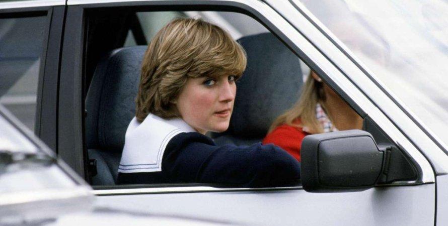 Ford Escort, принцесса Диана, подарок чарльза, принц чарльз, помолвка