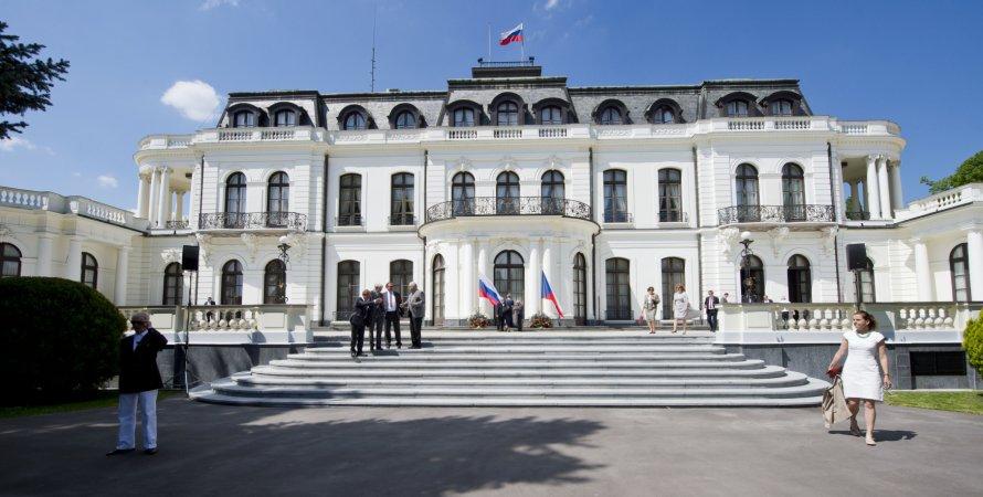 российское посольство, прага