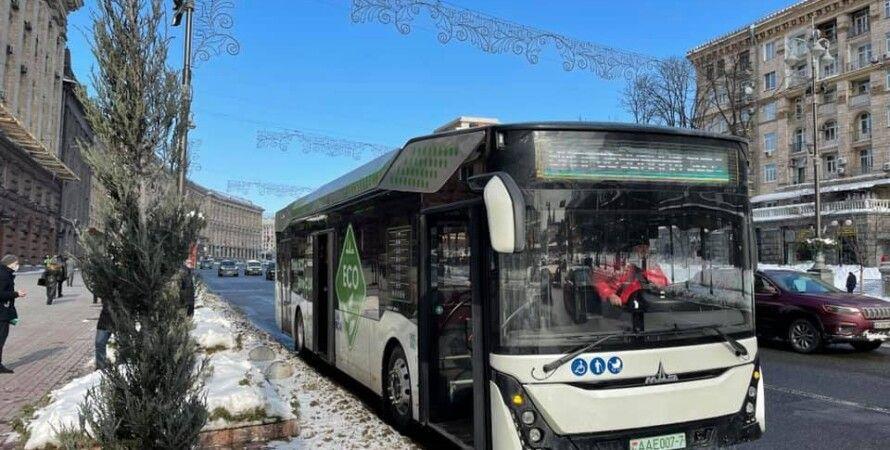 электробусы в киеве, замена дизельных автобусов в киеве