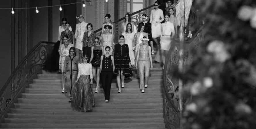 Chanel, показ, коллекция