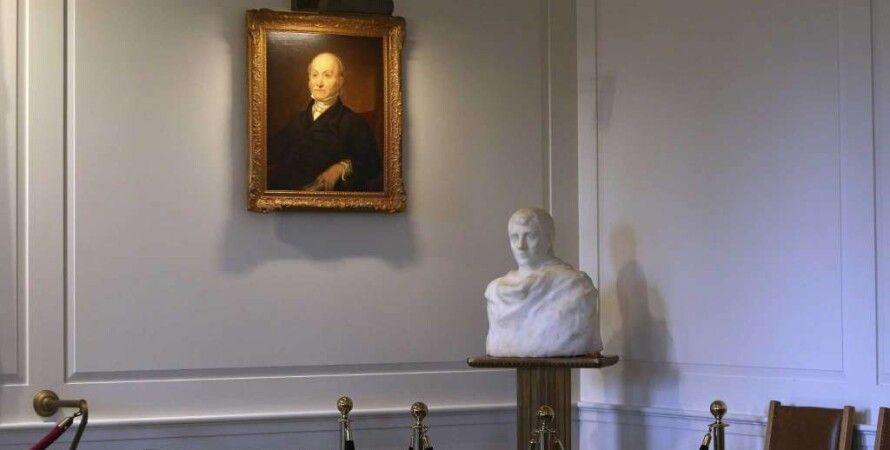 Обнаруженный бюст Наполеона / Фото: North Jersey News