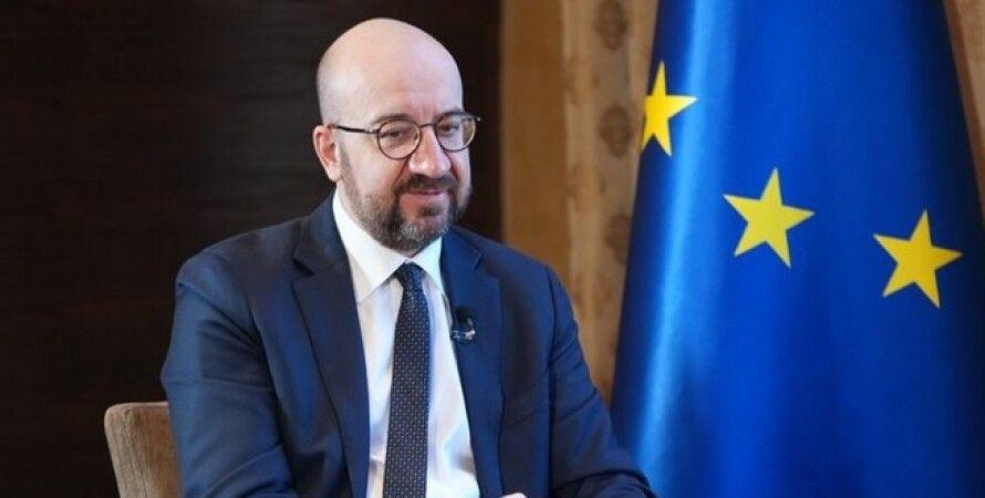 Шарль Мишель, Россия, санкции, Евросовет, Донбасс