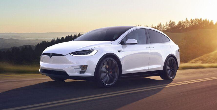 Tesla, авто, электрокар, Tesla Model X