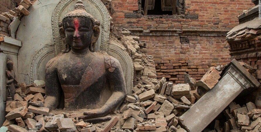Последствия землетрясения в Непале / Фото: Cnn.com
