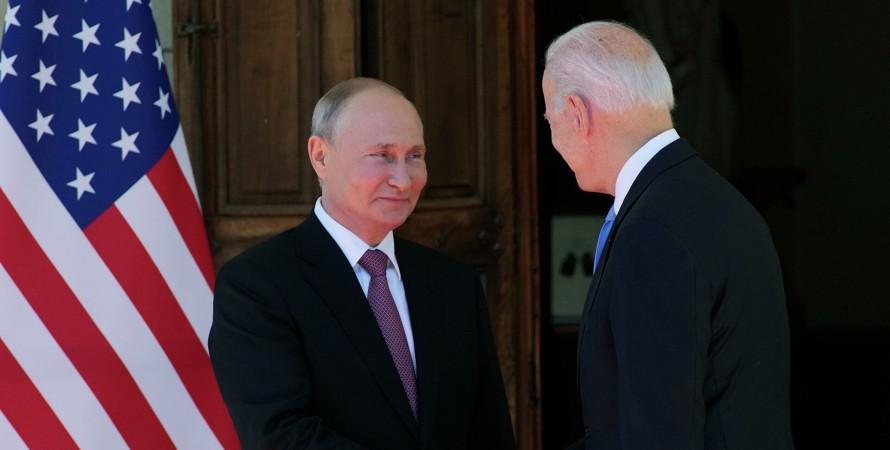Джо Байден, Владимир Путин, переговоры Байдена и Путина, саммит Байдена и Путина