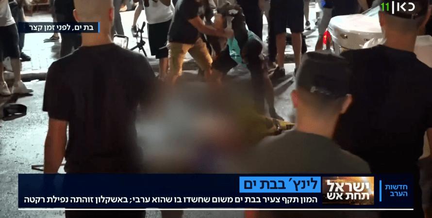 линчевание в израиле