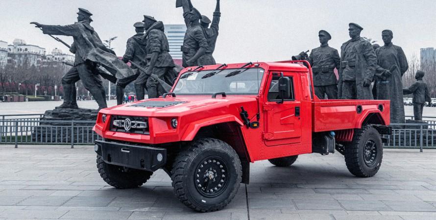 Китайський Хаммер Dongfeng Warrior M50 почали продавати всім бажаючим
