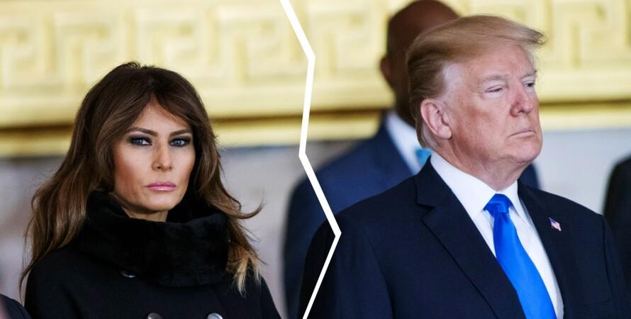 мелания трамп, дональд трамп