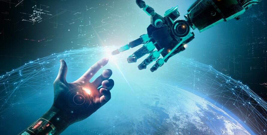искусственный интеллект, робот, человек, люди