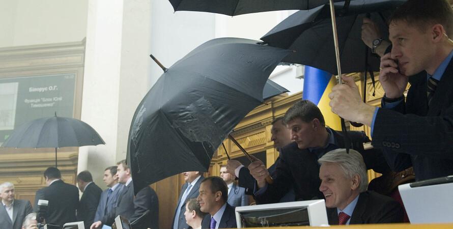 Володимир Литвин, депутати, Верховна Рада