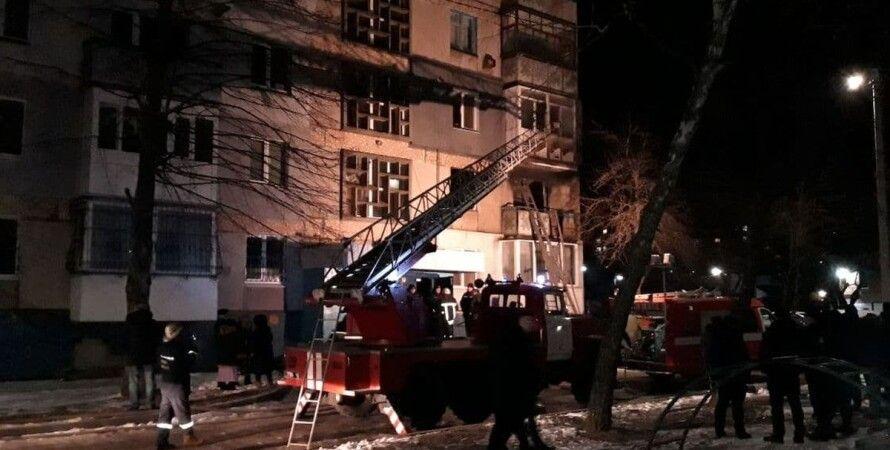 Кропивницкий, жилой дом, квартира, взрыв, пострадавшие,