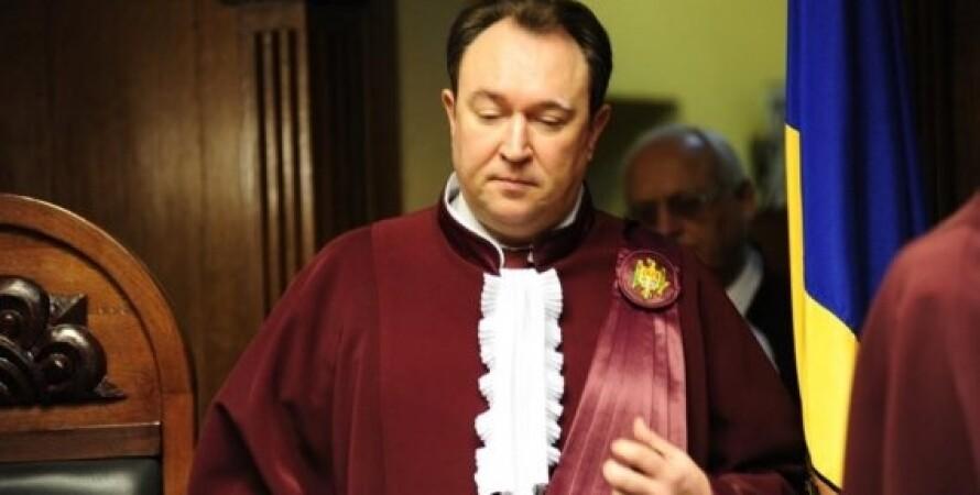 Глава Конституционного суда Александру Тэнасе / Фото: newsmaker.md