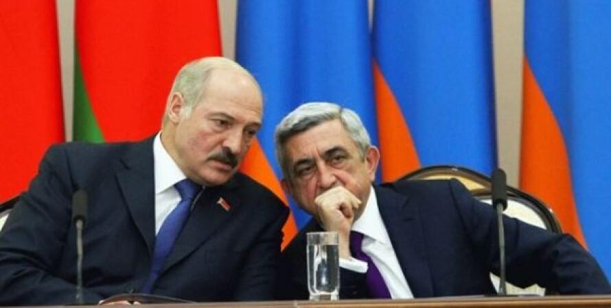 Александр Лукашенко, Серж Саргсян