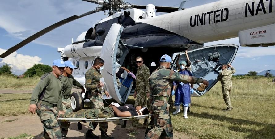 Миротворці, Конго, Малаві, Поранені, ДТП, Аеродром, Військовий госпіталь, Українські миротворці