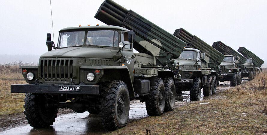 """РСЗО """"Град"""" / Фото: militaryarms.ru"""