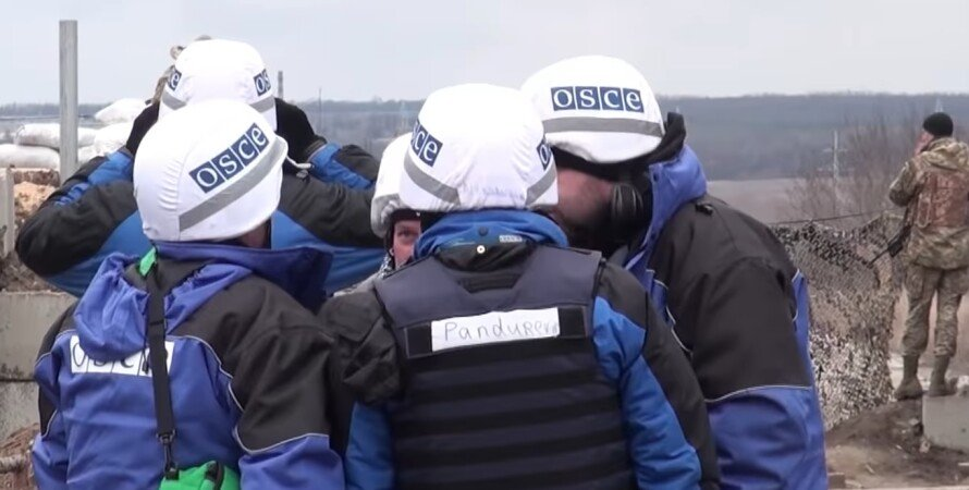 ОБСЕ, Донбасс, наблюдатели
