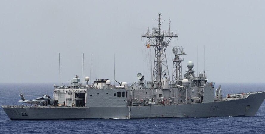 """Фрегат ВМС Испании """"Санта Мария"""" / Фото:seaforces.org"""
