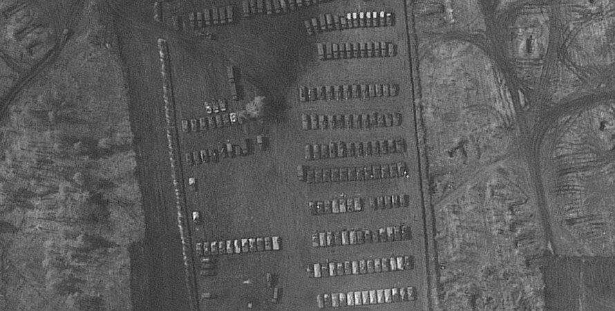 скупчення військ на кордоні з Україною, військовий табір під Україна