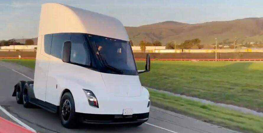 Tesla, Tesla Semi, електричний вантажівка, випробування,