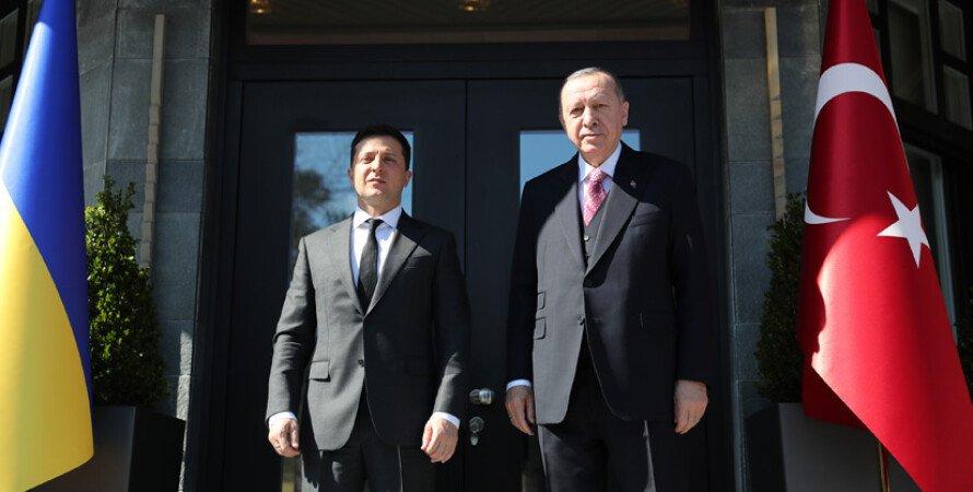 Владимир Зеленский, Реджеп Тайип Эрдоган, Стамбул, встреча Зеленского с Эрдоганом 2021