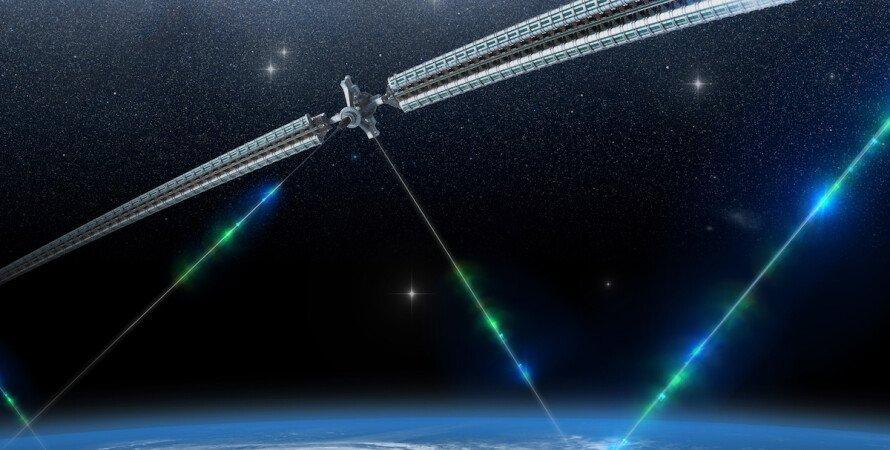 космос, Земля, космический лифт, фото