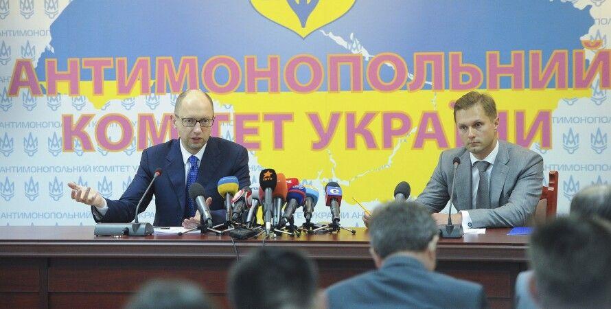 Арсений Яценюк и Юрий Терентьев / Фото: пресс-служба Кабмина