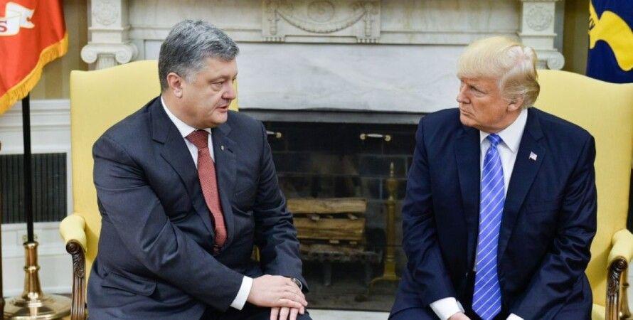 Петр Порошенко и Дональд Трамп / Фото: president.gov.ua