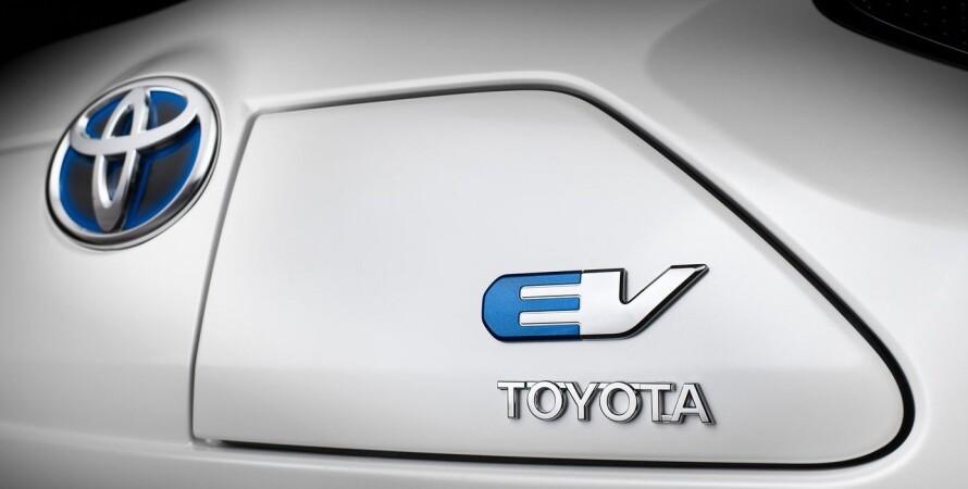 электромобиль Toyota, новый, сша, фото, презентация