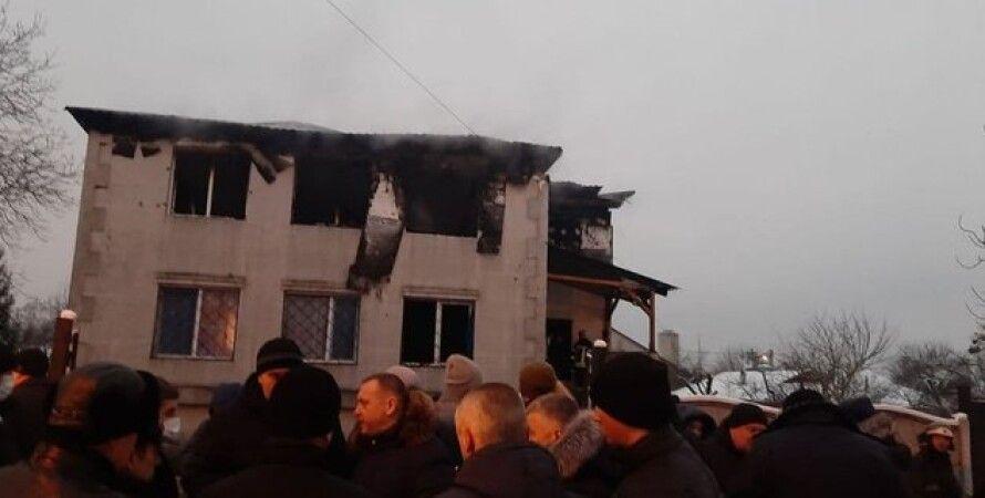 пожежа, харків, будинок для людей похилого віку, генпрокурор, ірина Венедиктова