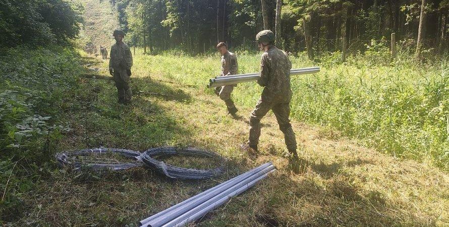 белоруско-литовская граница