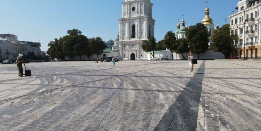 Софийская площадь, дрифт Red Bull в Киеве, гонки на Софийской площади, дрифт на Софийской площади
