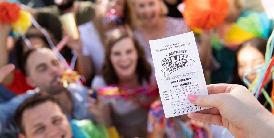 лотерея, лотерейний квиток, джек-пот