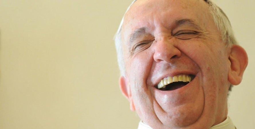 папа римский пошутил