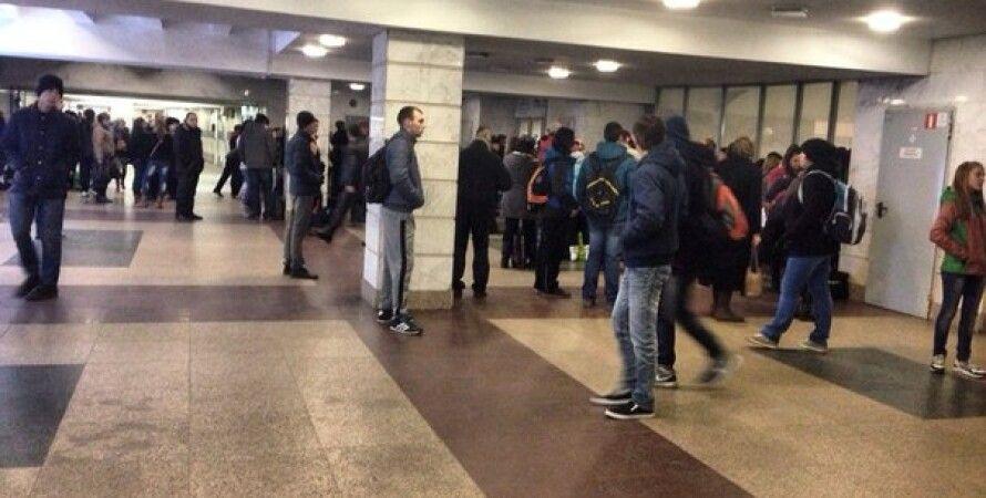 "Станция метро ""Лыбидская"" / Фото: Vk.com"