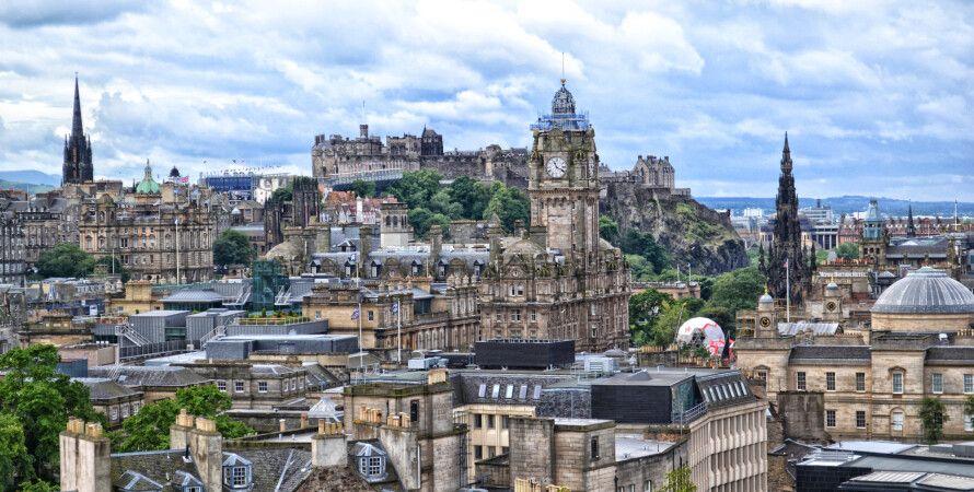 Панорама Эдинбурга / Фото из открытых источников