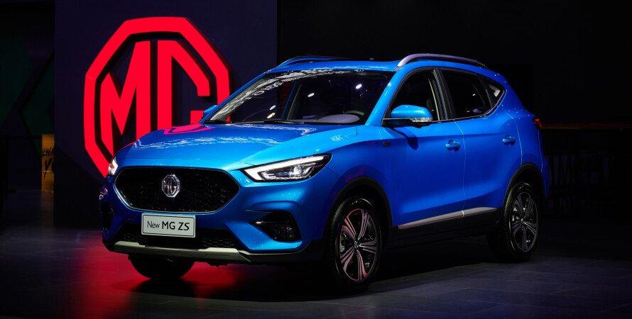 MG в Украине, MG выходит на украинский рынок