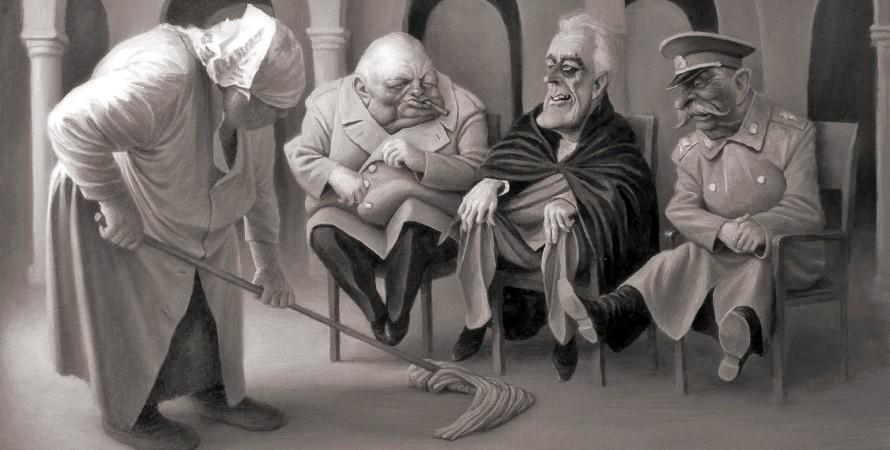 Денис Лопатин, карикатура