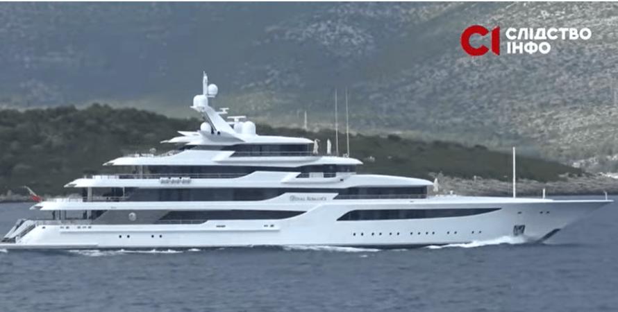 Royal Romance, яхта, медведчук, фото