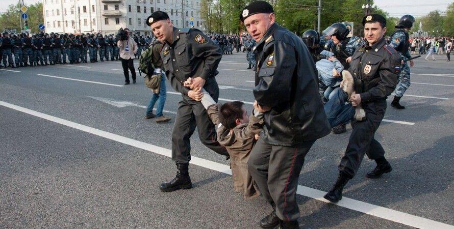 Аресты на Болотной площади в Москве / Фото: sovsekretno.ru