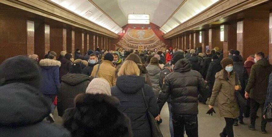 Киев, метро, локдаун, карантин, ограничения, транспорт