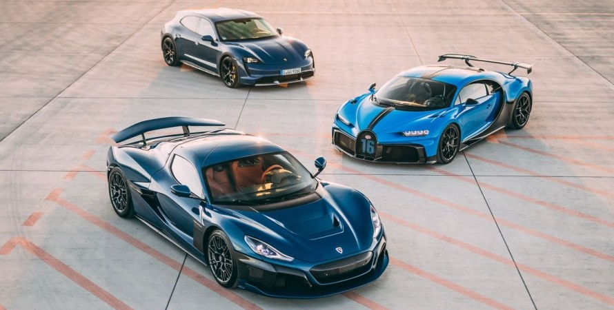 Bugatti переходить під контроль Porsche і Rimac